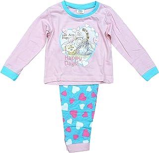 Pyjama Fille Disney Bébé Pyjamas Winnie l'ourson Pyjama Happy Days Tailles De 6 pour 24 Mois