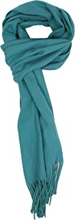 Love Lakeside-Men's Cashmere Feel Winter Solid Color Scarf
