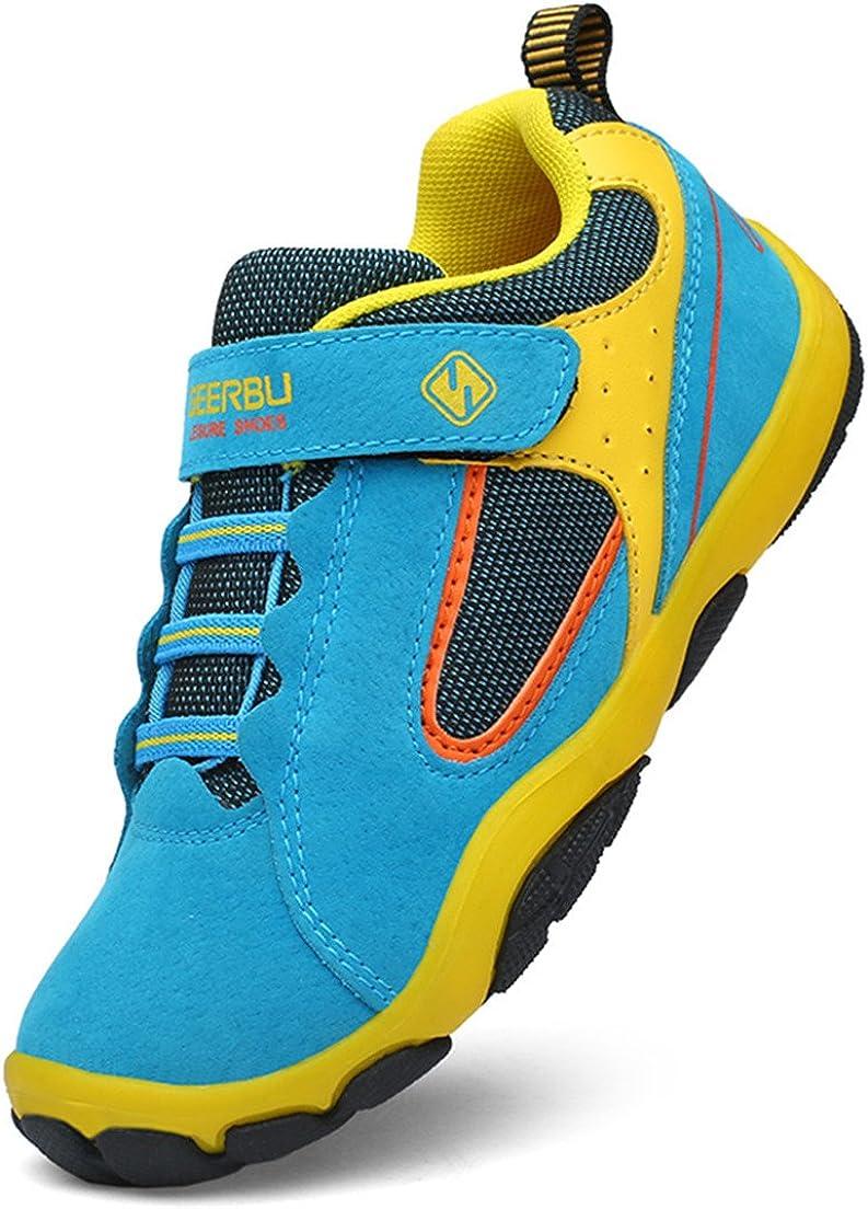 DADAWEN Kid's Outdoor Hiking Athletic Sneakers Strap Trail Running Shoes (Toddler/Little Kid/Big Kid)