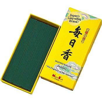 Mainichi-Koh Sandalwood Incense 170 Sticks by NIPPON KODO, Japanese Quality Incense, Since 1575
