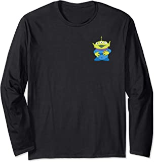 Pixar Toy Story Alien Pocket Logo Long Sleeve Tee
