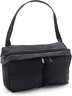 Bugaboo Stroller Organizer, Black - Compatible with Any Stroller - Attaches to The Handlebar or Behind The Seat, Converts into a Diaper Bag Tote