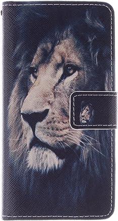 Anlike Lederh�lle Leder Tasche Case f�r Samsung Galaxy S6 /G9200 (5,1 Zoll) H�lle PU Leder Flip Brieftasche Schutzh�lle Wallet Cover Handytasche Schutzh�lle Handy Zubeh�r Handyh�lle mit Bookstyle mit : B�robedarf & Schreibwaren