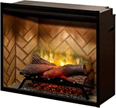 DIMPLEX NORTH AMERICA REVILLUSION Electric Fireplace, Black
