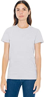 American Apparel Women's Fine Jersey Fitted Short Sleeve T-Shirt