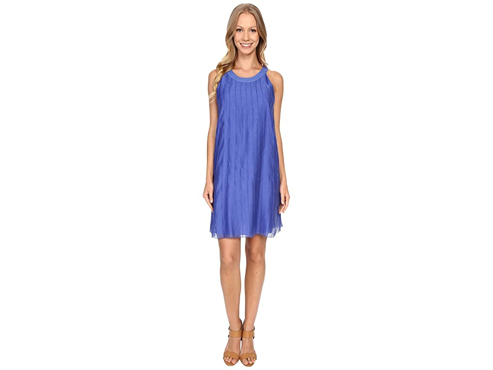 NIC+ZOE Batiste Pintuck Dress (Gulf) Women
