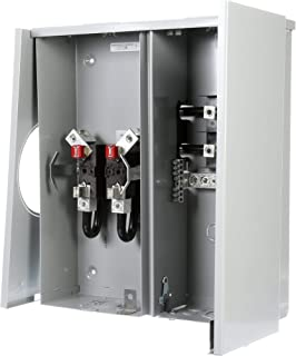 meter base with disconnect switch