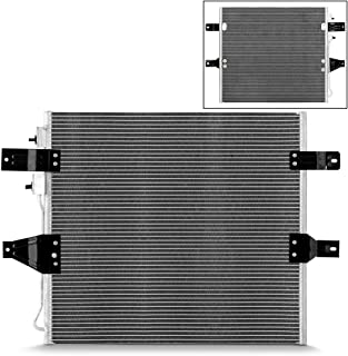 NEW 7-3265 Aluminum A/C AC Condenser Replacement For 2003-2007 Dodge Ram 2500/3500 Pickup Truck 5.9L l6 Diesel Models