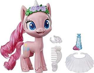 My Little Pony Pinkie Pie Potion Dress Up Figure -- 5-Inch Pink Pony Toy with Dress-Up Fashion Accessories, Brushable Hair...