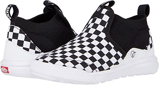 (Checkerboard) Black/True White