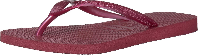 Havaianas Woherren Slim Sandal,Beet,41 42 BR (11-12 M US)  | Lebhaft