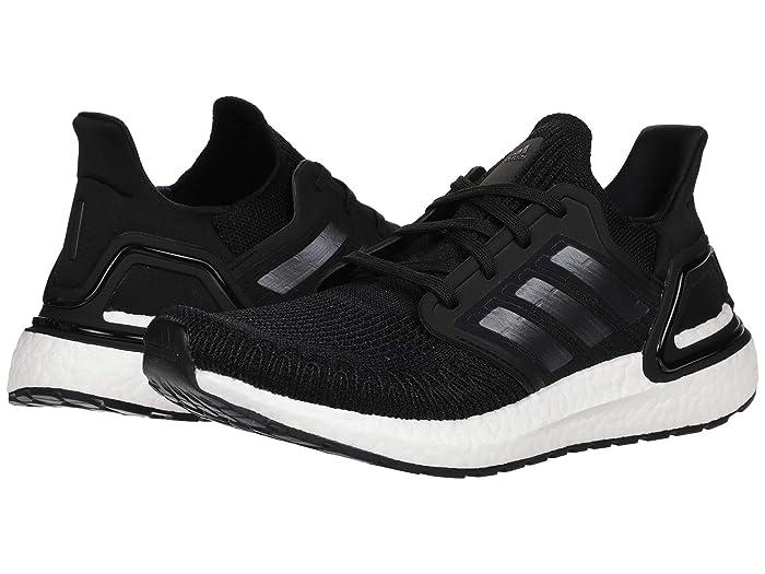 adidas Running  Ultraboost 20 (Core Black/Night Metallic/Footwear White) Womens Running Shoes