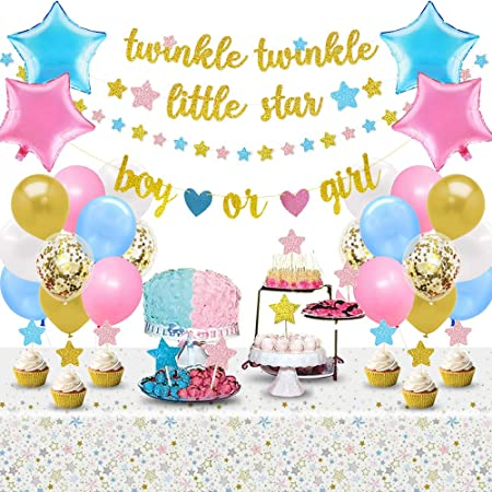 Jollyboom Twinkle Twinkle Little Star Balloon Garland Arch Kit Twinkle Gender Reveal Baby Shower Birthday Decorations Moon And Stars Balloons Spielzeug