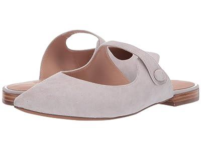 LINEA Paolo Darling Slip-On Mule (Pale Grey Suede) Women
