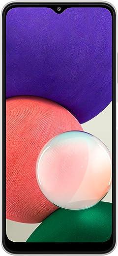 جوال سامسونج جالكسي ايه 22 الذكي - ذاكرة سعة 64GB ، و4GB RAM، 5G، لون ابيض (اصدار السعودية)