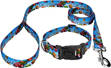 Country Brook Design - Deluxe Collar & Leash - Christmas Collection
