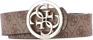 Luxury Fashion | Guess Womens BW7227VIN35BROWN Brown Belt | Fall Winter 19