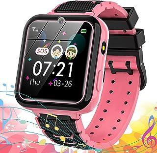Smartwatch Kind Kinder Horloge Kind Smartwatch Kinderen Smartwatch Voor Kinderen Telefoon met Touchscreen MP3-muziek SOS-o...