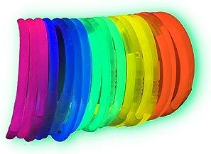 100 Pulseras luminosas glow pack fiesta ENTREGA 1-3 DÍAS