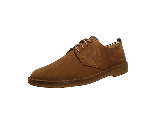 Clarks Originals Desert London - Zapatos con cordones Derby para hombre, Cola Suede, 42