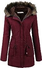 Beyove Womens Hooded Warm Winter Coats with Faux Fur Lined Outwear Jacket