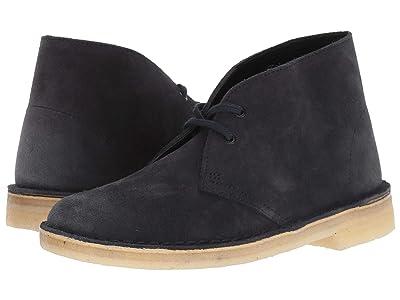 Clarks Desert Boot (Ink Suede) Women