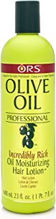 ORS Olive Oil Professional Incredibly Rich Oil Moisturizing Hair Lotion 23 Ounce (Pack of 3)