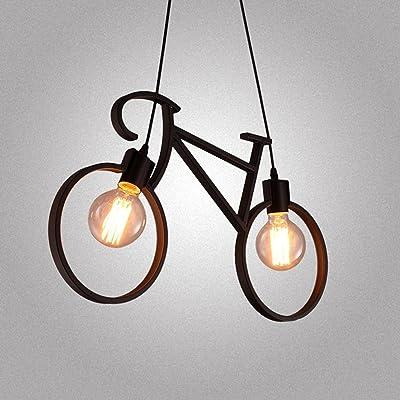Lámpara de Bicicleta de Estilo Industrial Vintage Negro ...