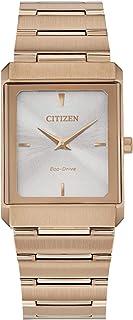 ساعة سيتزن ايكو-درايف صغيرة ستيليتو لون ذهبي وردي EG6013-56A
