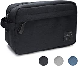 Toiletry Bag Travel Toiletries Bag for Women Men, Airlab Wash Bag for Accessories, Shampoo, Cosmetic, Healthcare Bag with Handle, Black