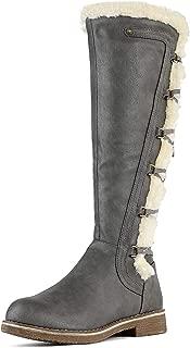 Women's Knee High Combat Boots
