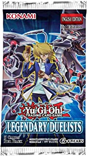 YuGiOh Card Game Legendary Duelists Booster Pack (Yu-Gi-Oh)