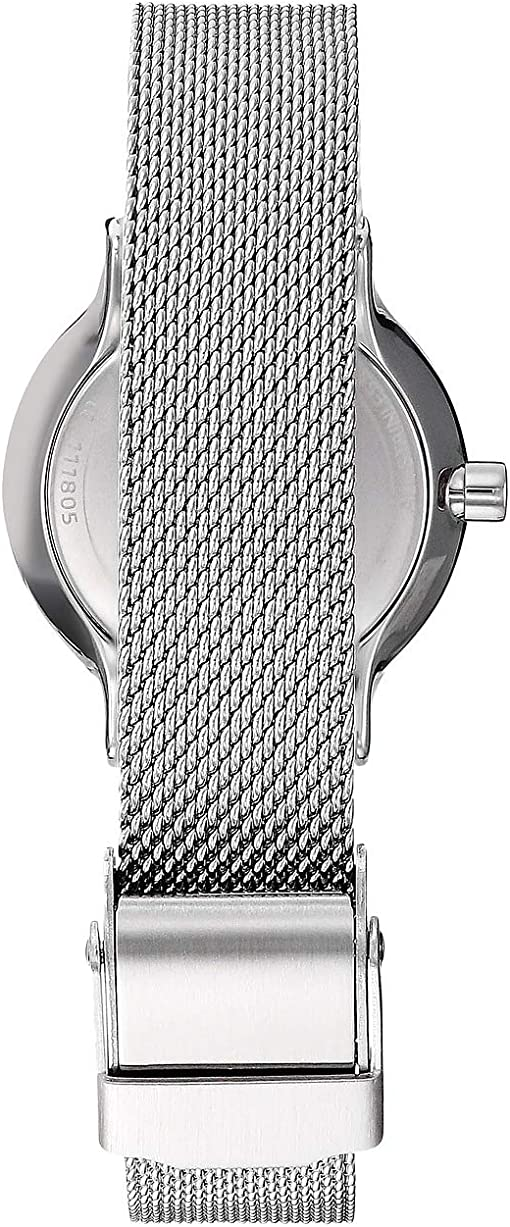 SKW2667 Silver Stainless Steel Mesh