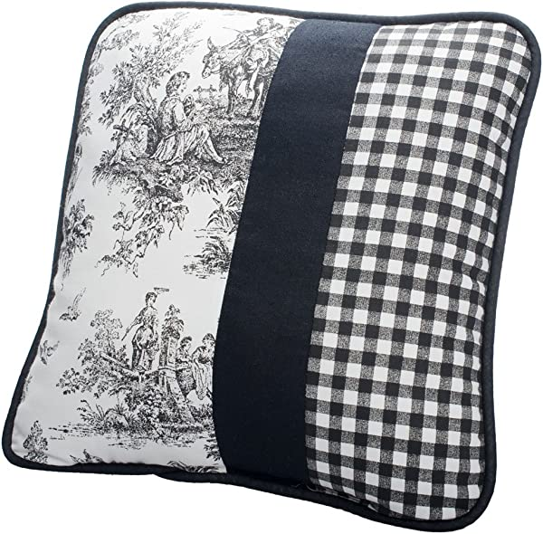 Victor Mill Jamestown Pillow Square