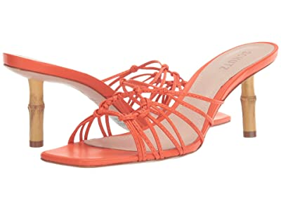 Schutz Dileni (Flame Orange Deluxe Nappa) Women