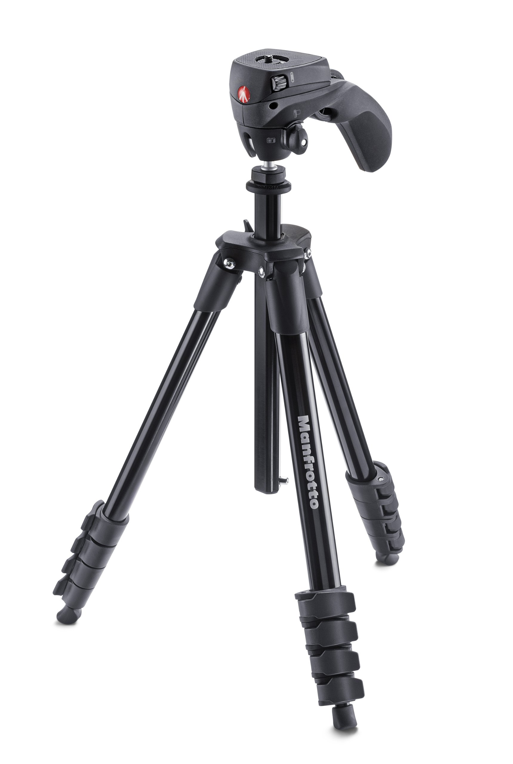 Manfrotto MKCOMPACTACN BK Compact Action Tripod