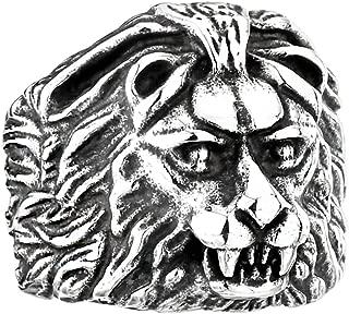 Amazon.es: para leon - Acero inoxidable / Anillos / Hombre ...