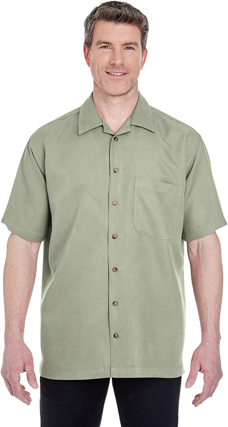 UltraClub Men's Cabana Rapid rise Breeze Shirt 2021 spring and summer new Camp