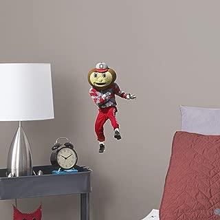 FATHEAD NCAA Ohio State Buckeyes Ohio State Buckeyes: Brutus Buckeye Mascot