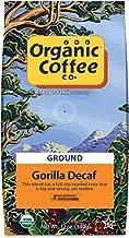 The Organic Coffee Co., Gorilla DECAF- Ground (12 oz.) Swiss Water Process- Decafeinated, USDA Organic