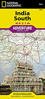 India South (National Geographic Adventure Map (3014))