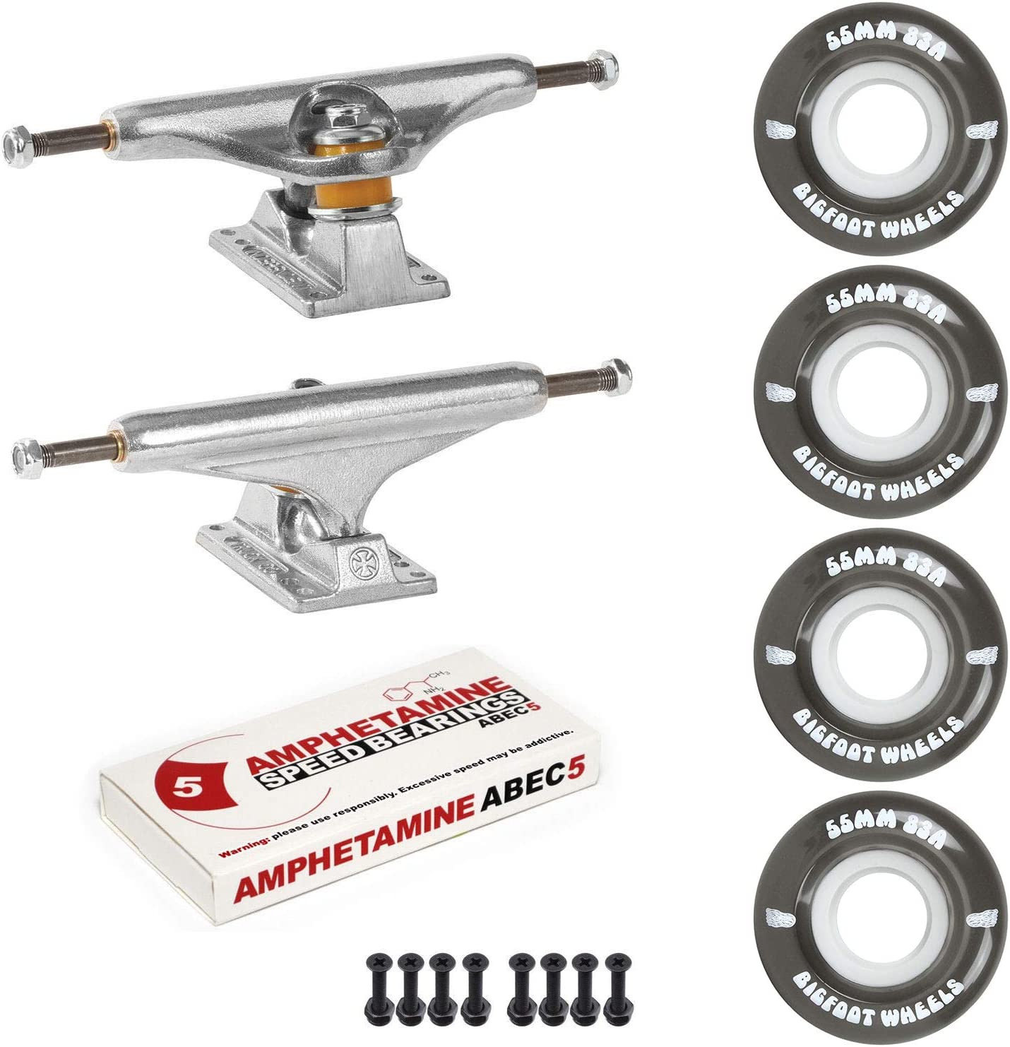 Independent Trucks Skateboard Sale Fashionable SALE% OFF 83A Cruiser Wheels ABEC 5 Package