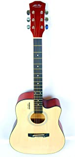 41inch Mike Music Acoustic Guitar with bag and strap (41, natural)