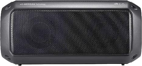 Caixa de Som Bluetooth LG XBOOM Go PK3 Prova d'água,