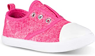 Chillipop Slip-On Laceless Fashion Sneakers Girls, Boys,...