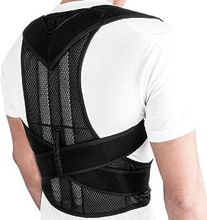 مصحح وضعية الجسم من اونر اول للرجال والنساء للظهر، احزمة يمكن تعديلها، للتدريب ودعم الكتفين