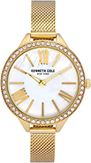 Kenneth Cole Women 's KC50939004 Quartz Gold Watch