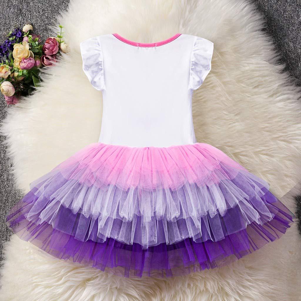 Vestido de Fiesta de cumplea/ños para ni/ñas Bibao