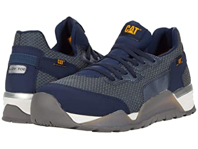 Caterpillar Sprint Textile Alloy Toe (Dress Blue) Men