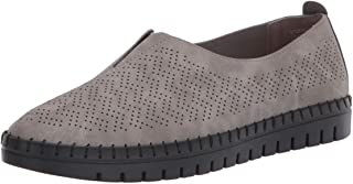 Easy Street womens Flat Sneaker, Grey, 9 Wide US